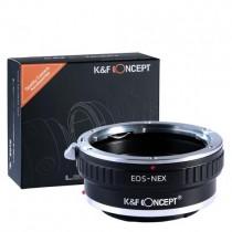 KF Adaptador Canon EF a...