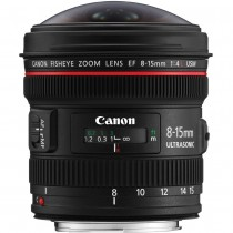 CANON EF 8-15MM F4L FISHEYE...